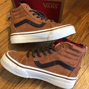6a0ca67393 NewinBox Vans Skate Hi Top Suede MTE Glazed Ginger